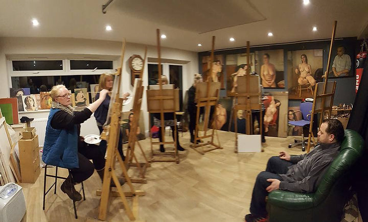 Art classes at Corner Studio in York