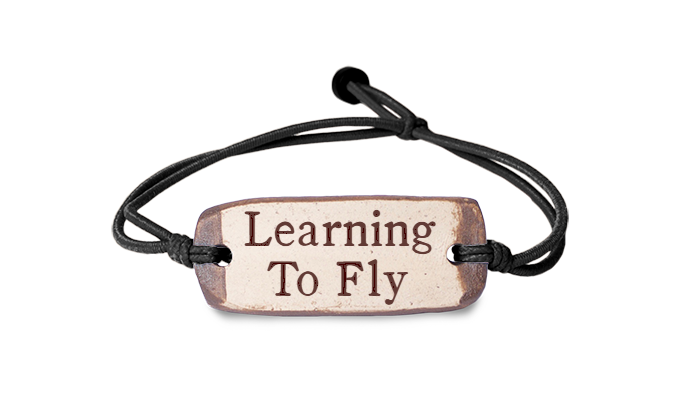Learning to Fly Bracelet