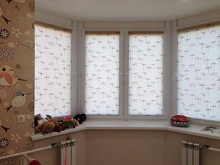 Рулонные шторы-жалюзи на окна