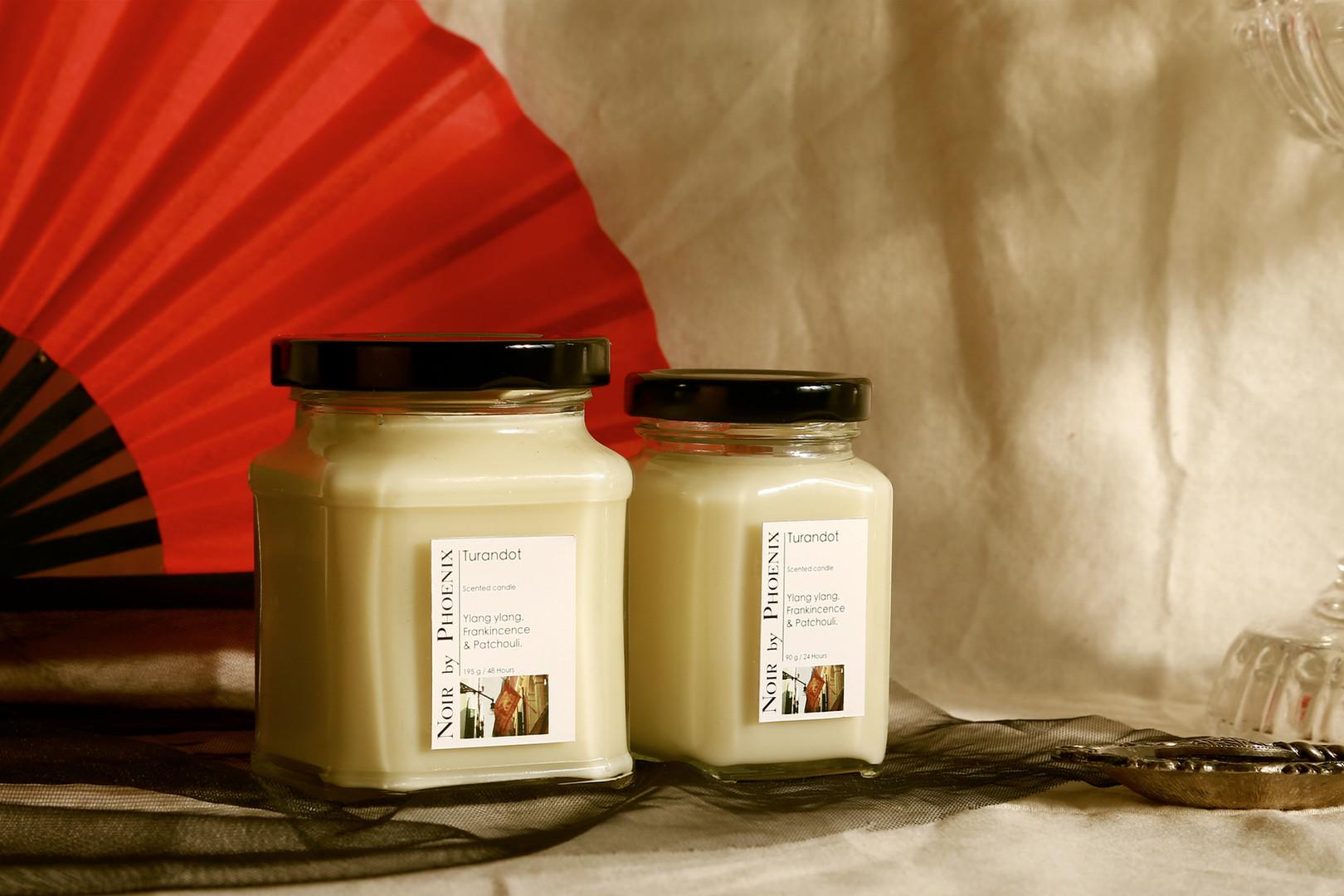 杜蘭朵公主保養精油大豆蠟燭