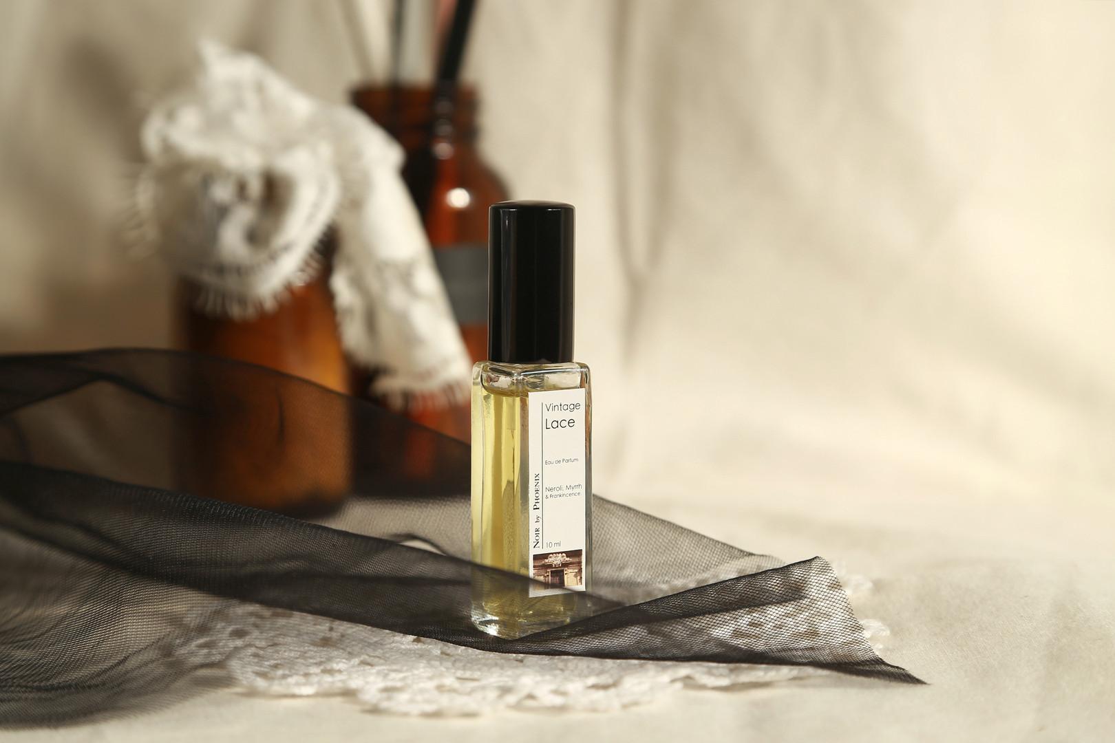 古董蕾絲精油夜香水