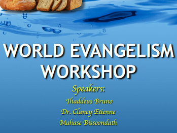 World Evangelism Workshop