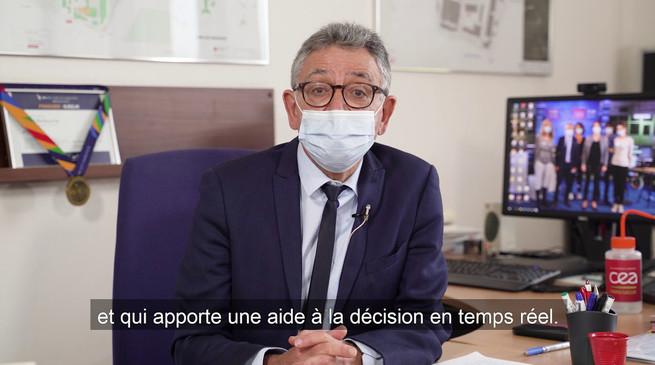 Voeux 2021 du directeur du CEA Paris-Saclay