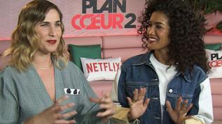 """Cadreur pour la société Microfilms Paris Junket.  Interview pour la sortie de la nouvelle saison de la série """"Plan Coeur 2"""" sur Netflix.  Montage et interview : CinéSéries"""