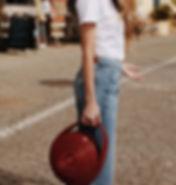 sac rouge piece unique fait a la main luxe