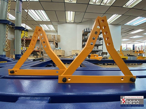 FRAME MACHINE ADJUSTABLE SET OF 2 UNIVERSAL WHEEL STANDS CHIEF STYLE 674507
