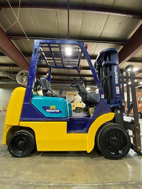 USED Komatsu FG20ST-12 Cushion Tire Forklift