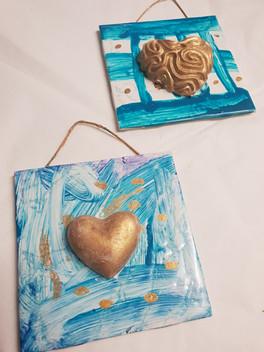 Heart plaques