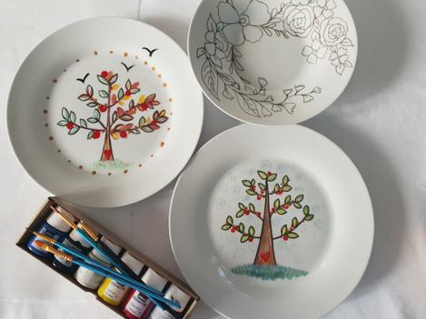 Ceramic Painting Kit