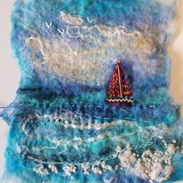 Wet Feltmaking & embroidery