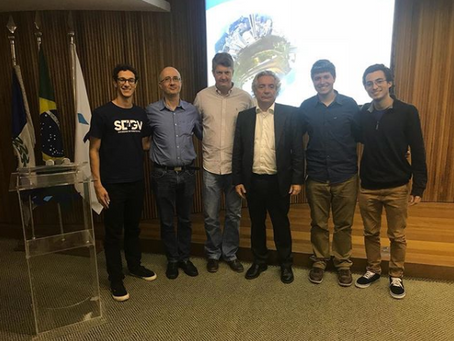 CAEG promove palestra com o especialista ADRIANO PIRES