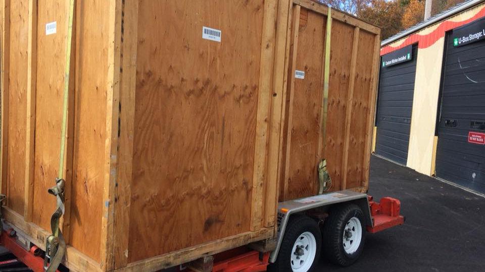 U-Boxes Delivery Load/unload