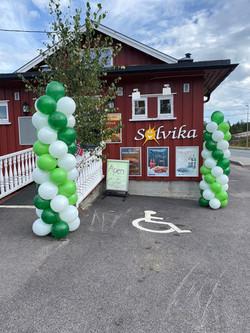 Solvika- Søyler