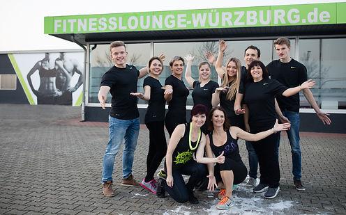 Trainingsparter und Trainer in der Fitnesslounge Würzburg