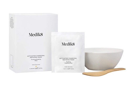 Medik8 Activated Charcoal Refining Mask Kit - 4 by 10g