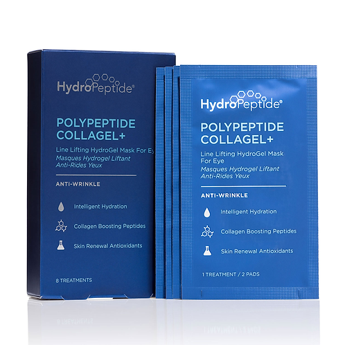 Hydropeptide Polypeptide Collagel+ Mask for Eyes - 8 pairs
