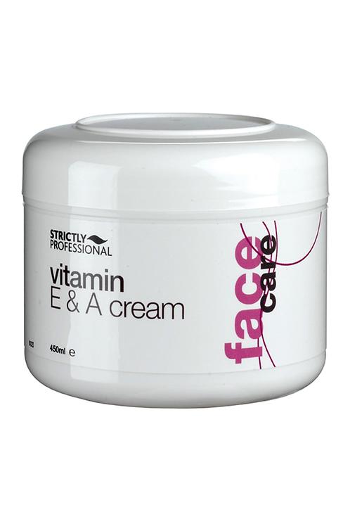 Strictly Professional Vitamin A and E Cream - 450ml