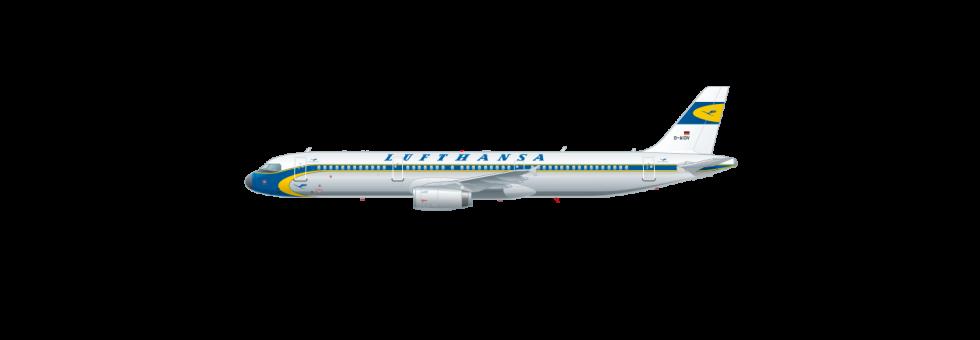 Retro-livery A320