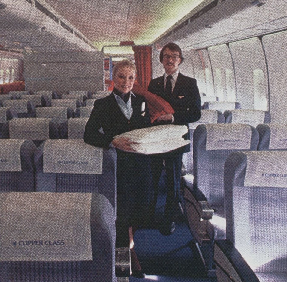 Business Class - Pam Am - 1980-ish