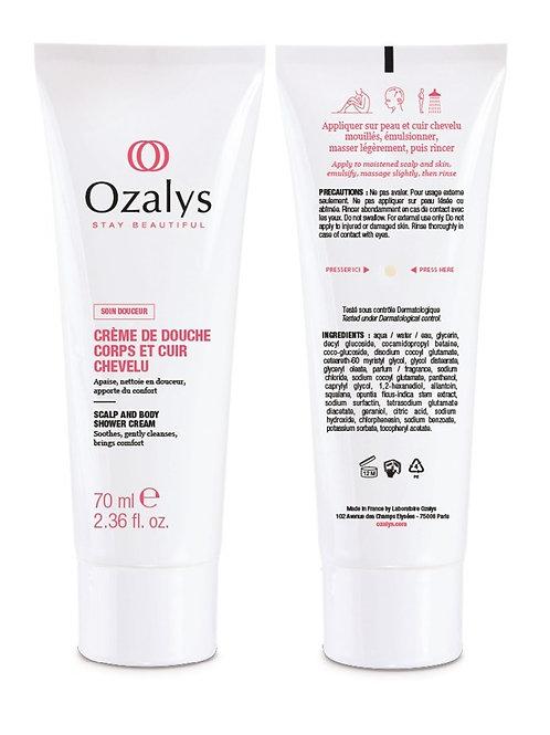 Ozalys Scalp and Body Shower Cream - 70ml