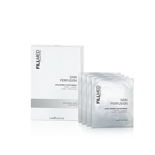 Fillmed Skin Perfusion Hyaluronic Youth Mask - Pack 4