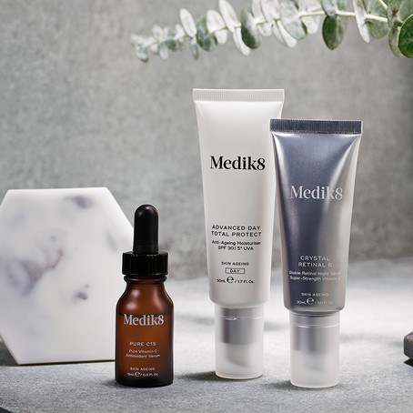 New Medik8 Products and Packaging