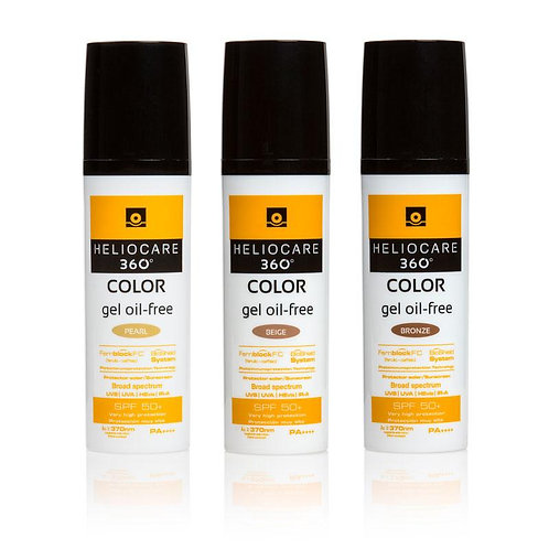 Heliocare 360° Color Oil Free Gel - 50ml
