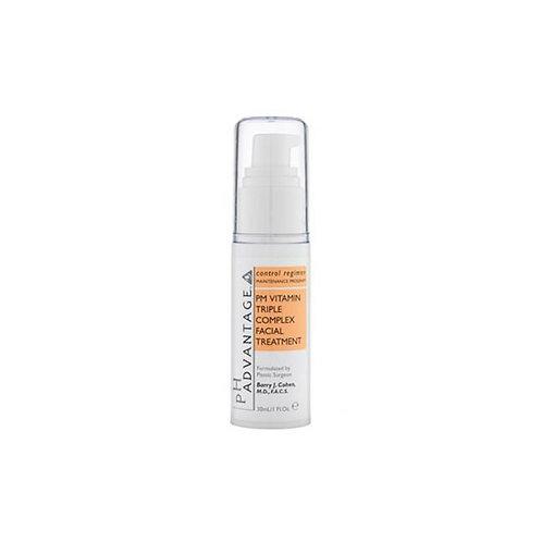 pH Advantage PM Vitamin Triple Complex Facial Treatment - 30ml