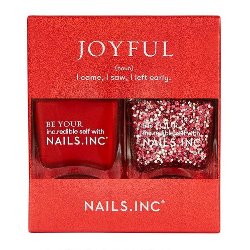 Nails Inc Joyful Duo Kit - 2 by 14ml