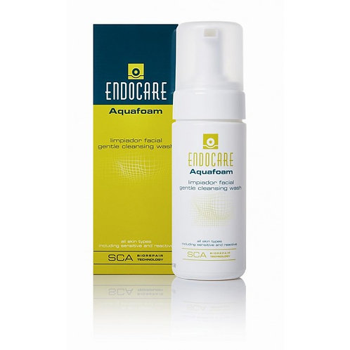 Endocare Aquafoam Gentle Cleansing Wash - 125ml