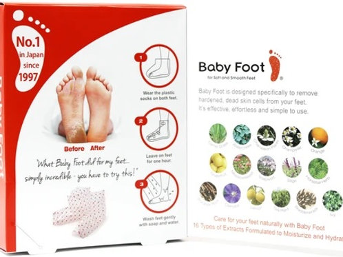 Baby Foot Exfoliating Foot Peel - 1 Pair