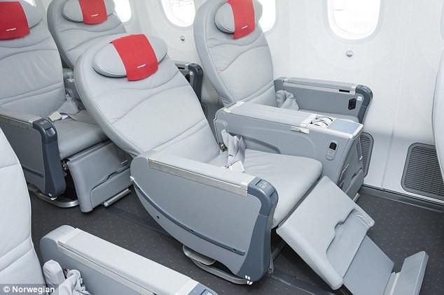 Norwegian Airlines Premium Cabin