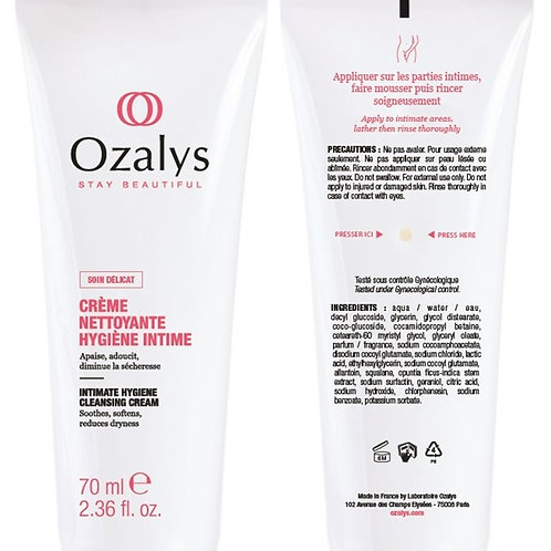 Ozalys Intimate Hygiene Cleansing Cream - 70ml