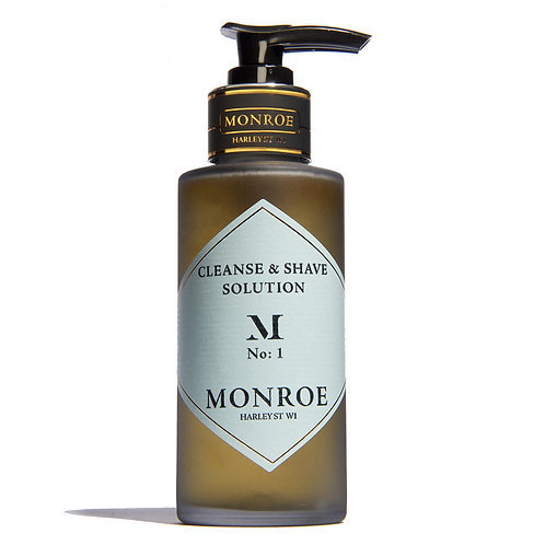 Monroe Daily Cleanse and Shave Solution - 100ml
