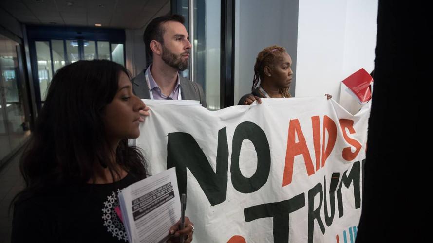 No AIDS2020 In Trump's USA