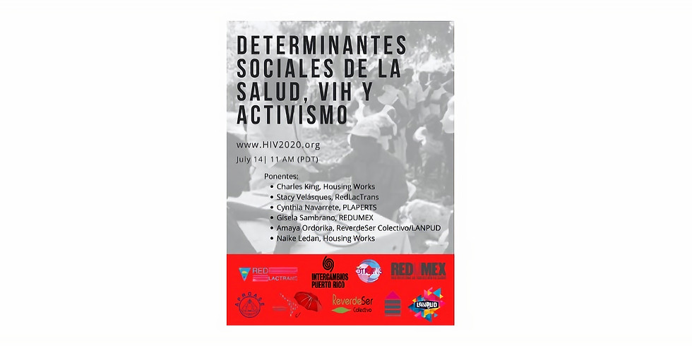 Social determinants of health, HIV, and activism
