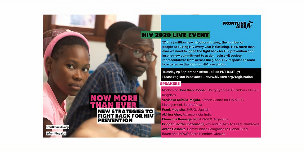 Now more than ever: New strategies to fight back for HIV prevention