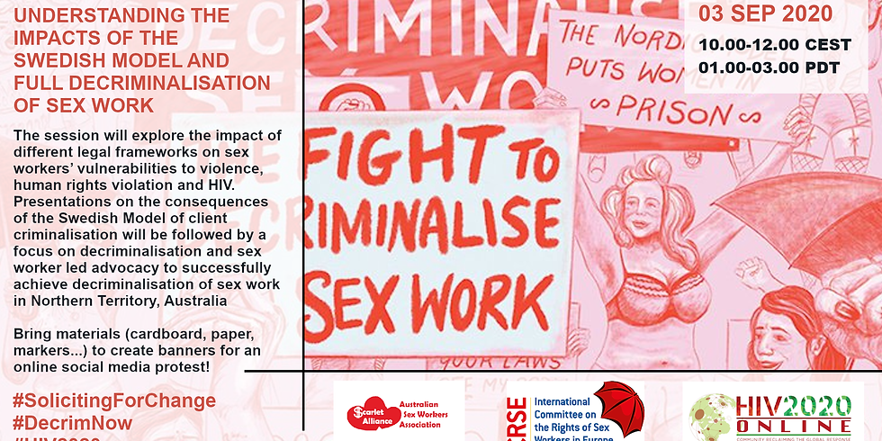 Soliciting for Change: Understanding the impacts of the Swedish Model and full decriminalisation of sex work