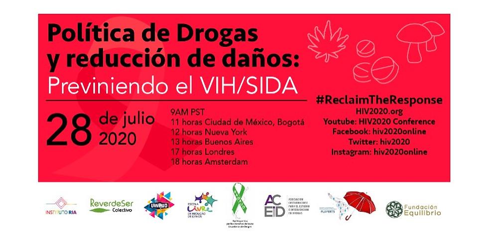 Política de Drogas y reducción de daños: Previniendo el VIH/SIDA