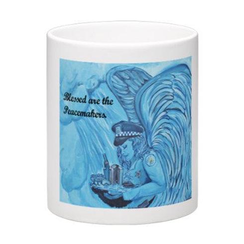 Cop Angel Mug