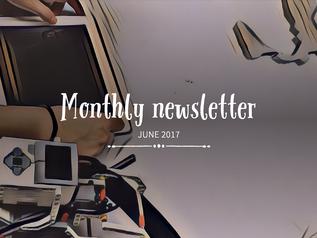 Fresh news in our June newsletter