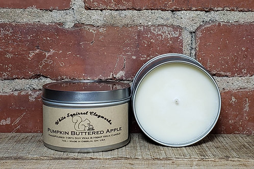Pumpkin Buttered Apple Hand-Poured Soy Candle - 7oz