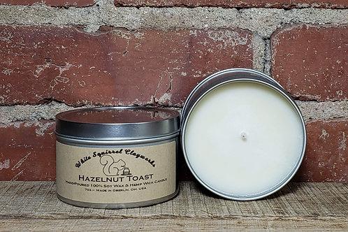 Hazelnut Toast Hand-Poured Soy Candle - 7oz