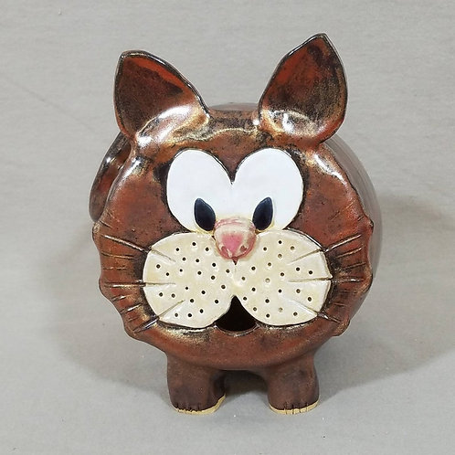 Handmade Ceramic Cat Bank