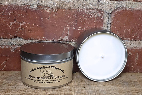 Evergreen Forest Hand-Poured Soy Candle - 7oz
