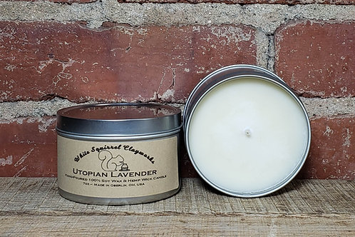 Utopian Lavender Hand-Poured Soy Candle - 7oz