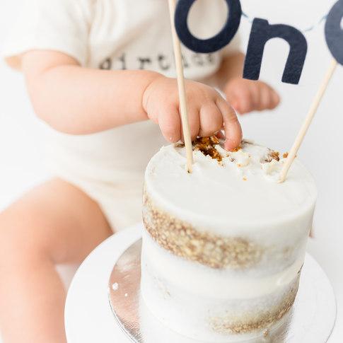 Hoboken Cake Smash Photography
