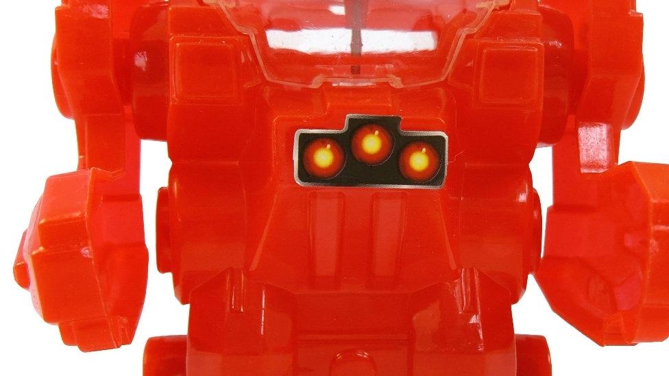 Super Robot Warrior - Red