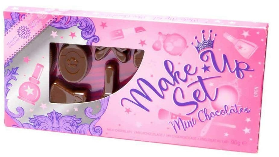 Milk Chocolate Make Up Set