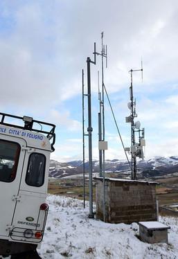 Manutenzione sismografo Monte Orve